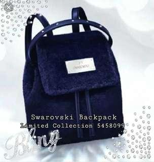 🚚 New! Swarovski Furry Backpack