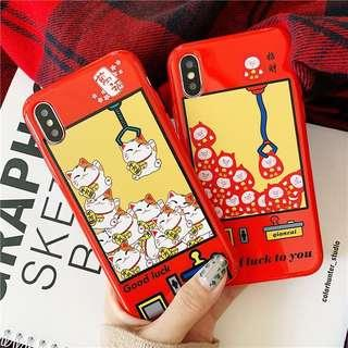 🚚 PO: Claw Machine Animal Phone Casing