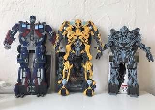 變形金剛 Transformers Movie 電影 1 & 2 變形 DVD 盒 共3款