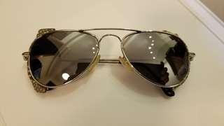 Roberto Cavalli Occhio degli Dei Gradient Aviator Pilot Snake Skin Sunglasses 太陽眼鏡 ~ MADE IN ITALY