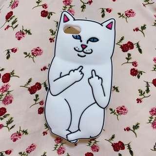 ✨現貨|中指貓 手機殼 iPhone7 / iPhone8 可使用 瑕疵出清