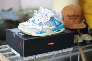Nike air jordan 4 military blue
