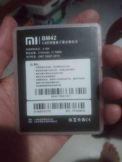 🚚 Mi bm42 new battery