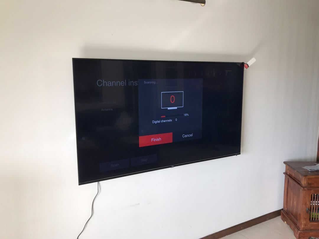 """65"""" TCL 4K Smart UHD TV ( Not Samsung , LG or Sony )"""