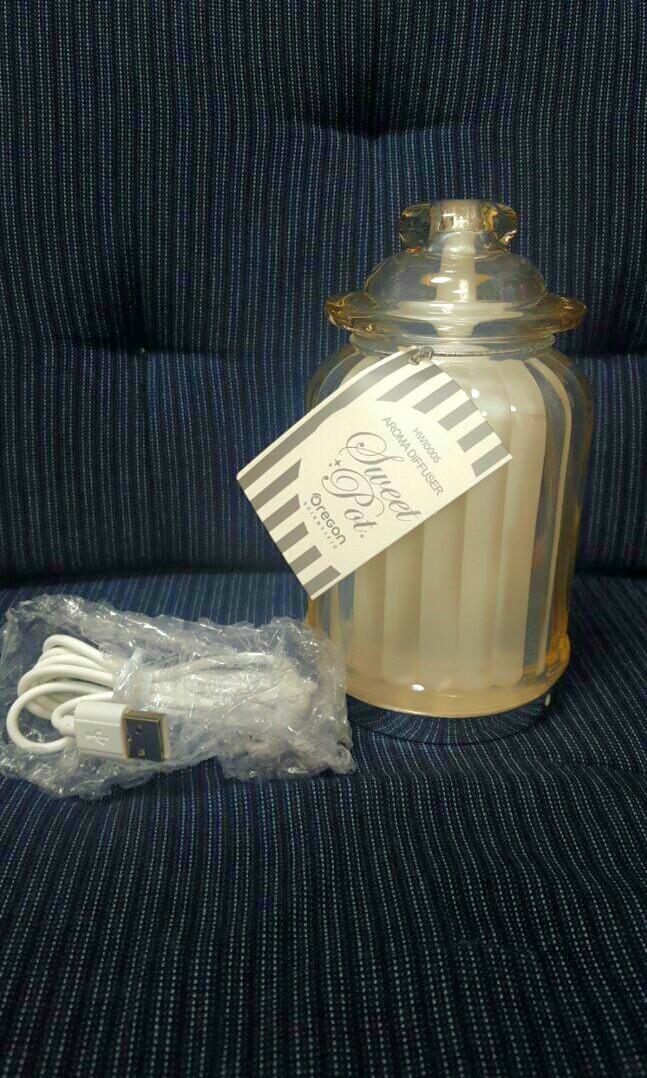 菓子玻璃香薰噴霧器 (茶色)