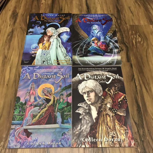 A Distant Soil Complete Series Tpb