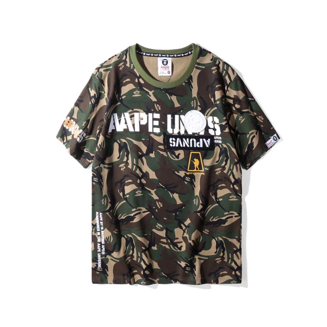 7e6540c9 ... aape by a bathing ape camo tee men s fashion clothes on carou; custom  ...