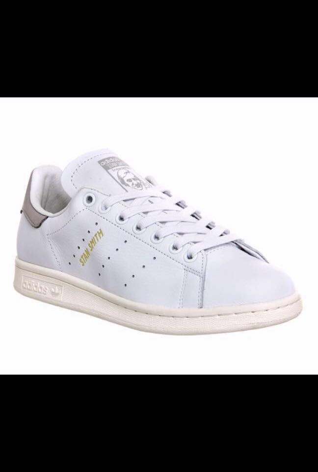 buy online 91a3f 3bc1e Adidas Stan Smith premium white and black at the back, Men s Fashion ...