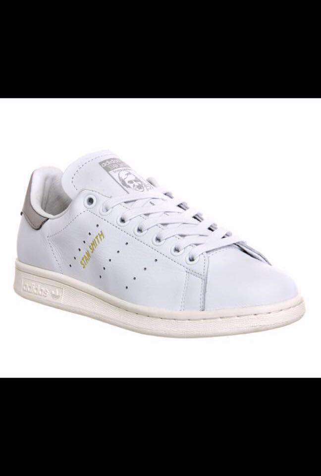 half off 7a723 f14bf Adidas Stan Smith premium white and black at the back, Men's ...