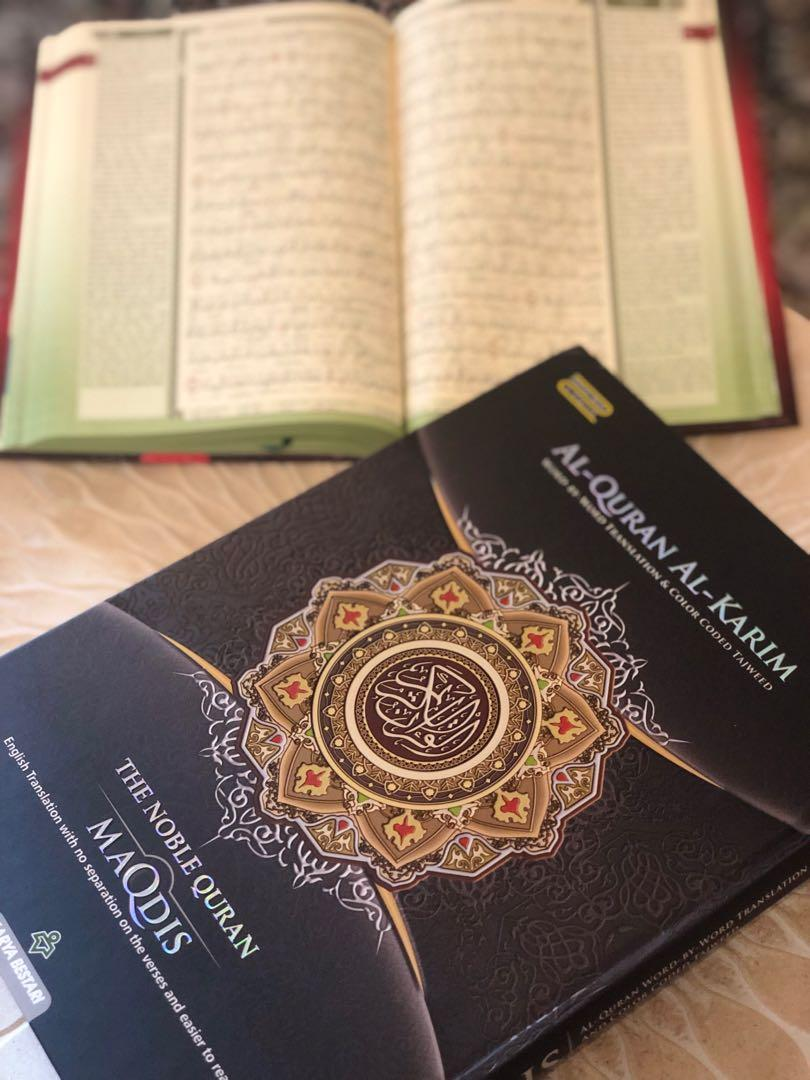 Alquran, Books & Stationery, Non-Fiction on Carousell