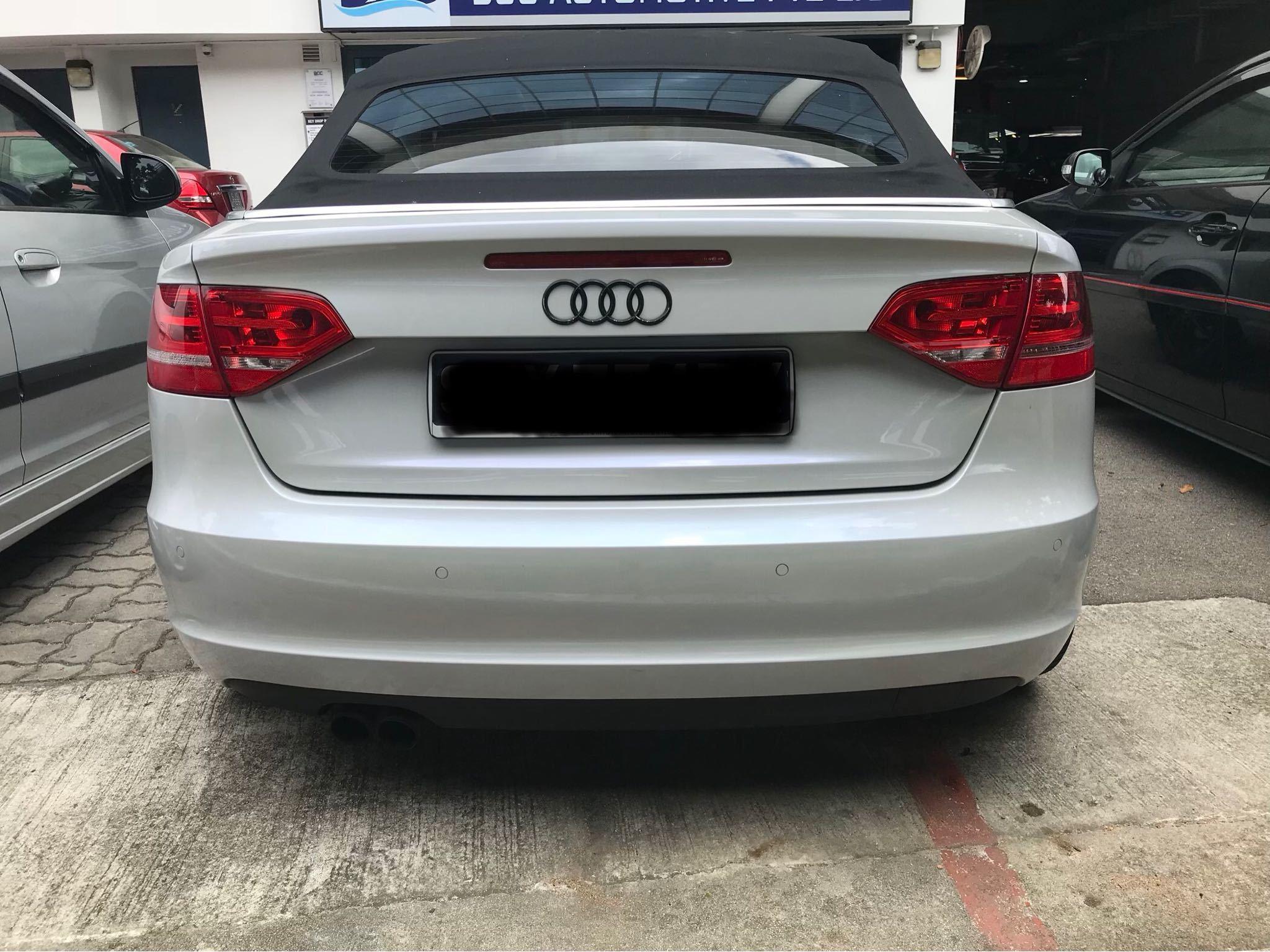 Audi A3 Cabriolet 1.8 Auto TFSI S-tronic