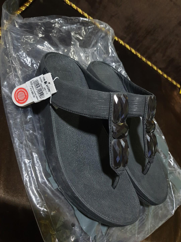 42d545de2cec0b Authentic Fitflop Sweetie Toe-Post US8 Black
