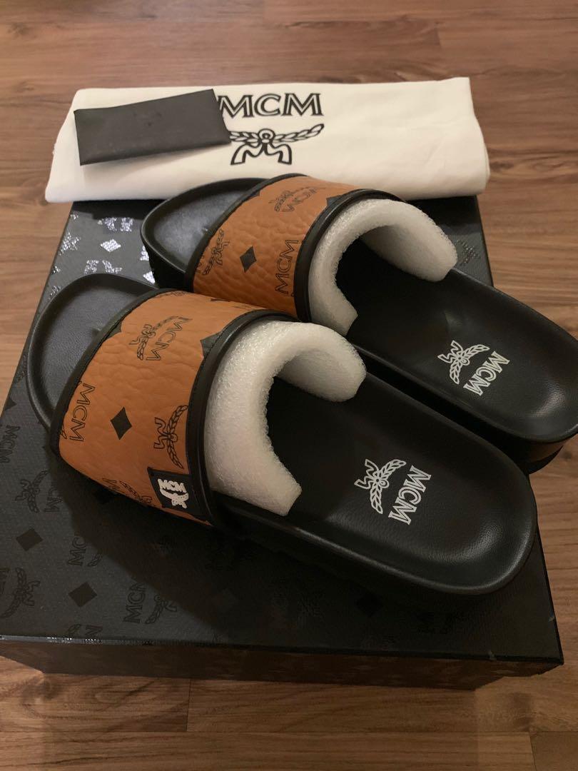 270304cf6 Authentic MCM Slipper for ladies , Women's Fashion, Shoes, Flats ...