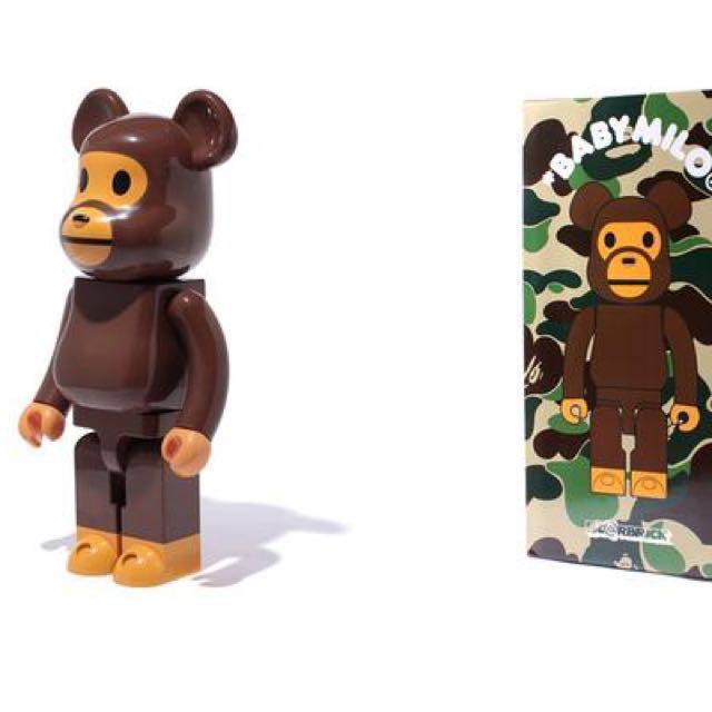 e848a30d Baby Milo bearbrick 1000%, Toys & Games, Bricks & Figurines on Carousell