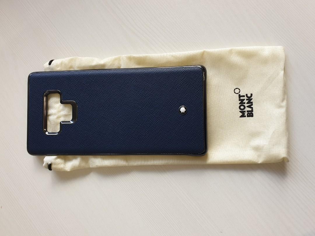 quality design 7ca33 b2ee5 BNIB Montblanc Saffiano Hard Shell Cover Samsung Note 9