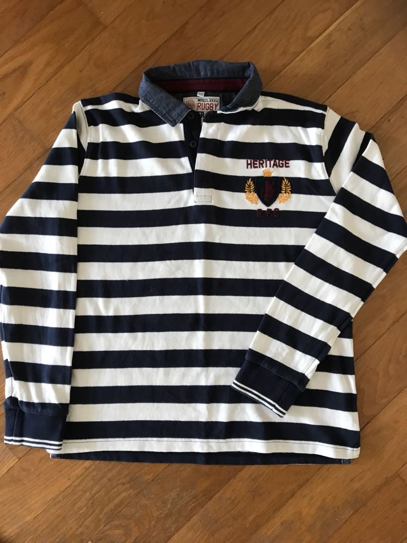 22900730d Boys Rugby Shirt 11-12 Years, Babies & Kids, Boys' Apparel, 8 to 12 ...