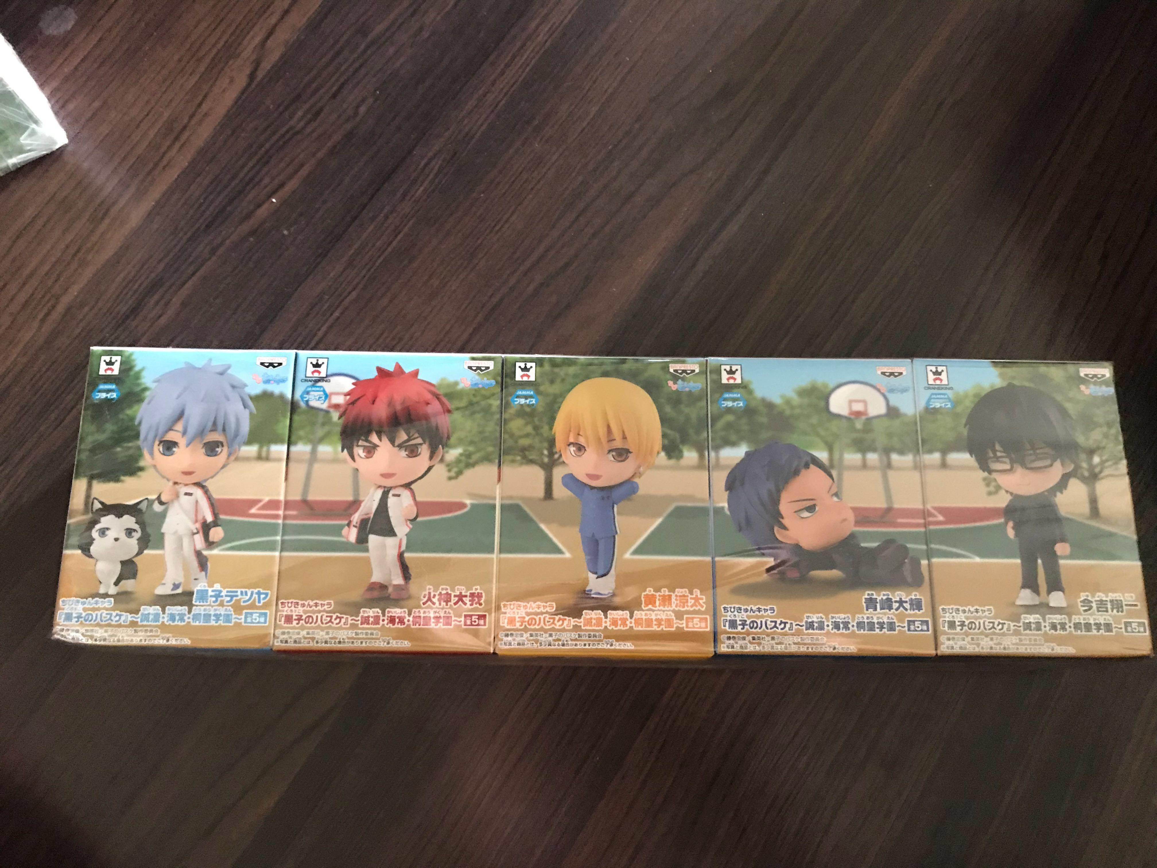 Chibi Kyun Characters of KUROKO NO BASUKE ~Seirin,Kaijou and