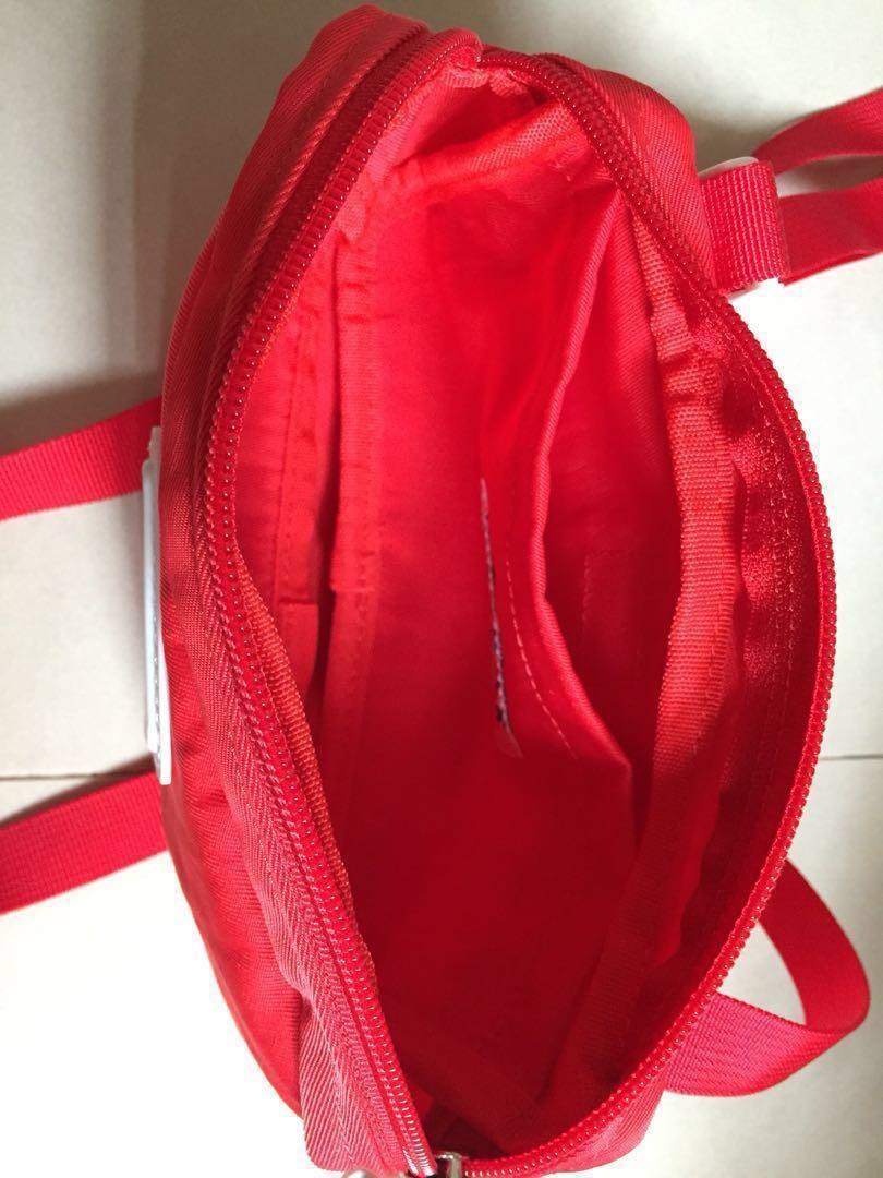 CILOCALA紅色輕防潑水斜背包