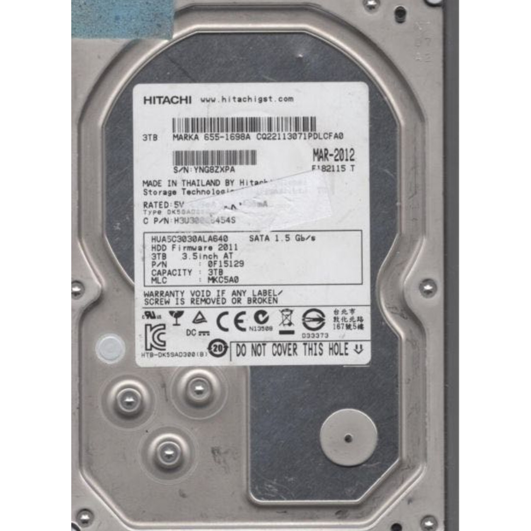 "3TB sata Desktop disk 3 5"" size disk : : can use on server too: 10 pieces  avail"