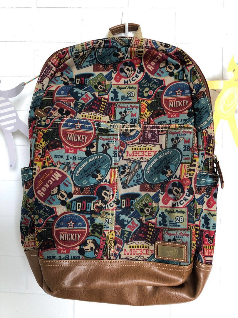 Disney limited edition Vintage Mickey Mouse Backpack