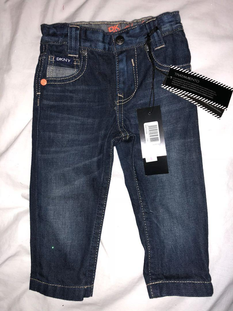 DKNY baby jeans 12 months