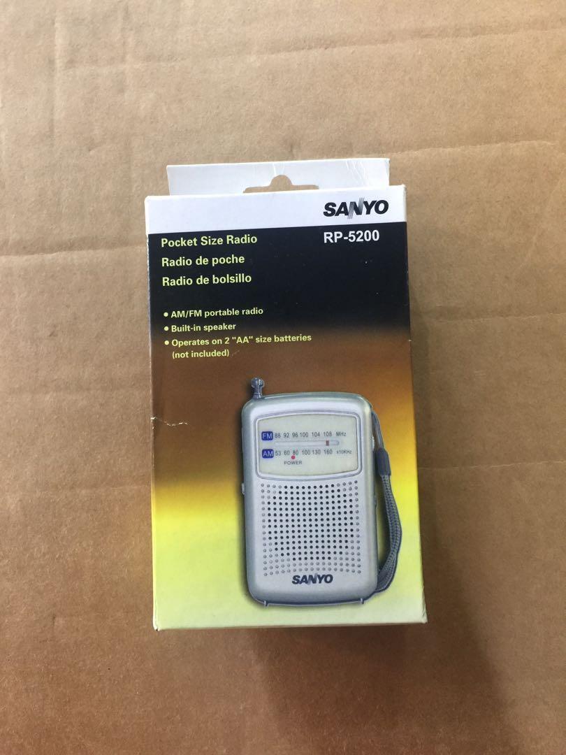 DSE 考試聆聽收音機 SANYO RP-5200