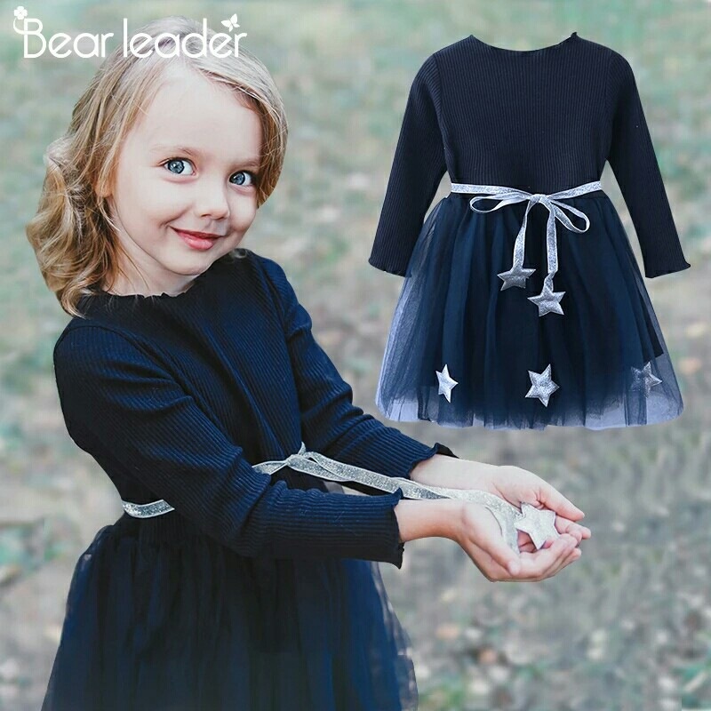 7adf9332875 Girls Dress Pentagram Princess Dress Brand Girls Clothes Children ...