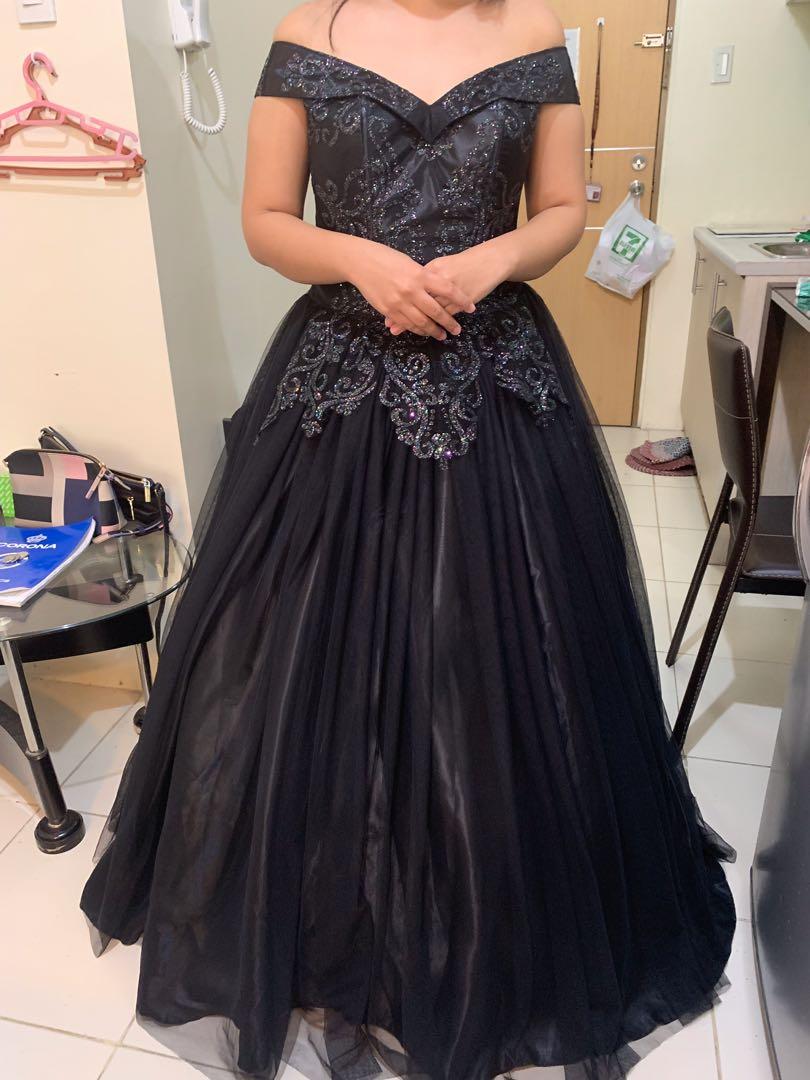 Black Ball Dresses