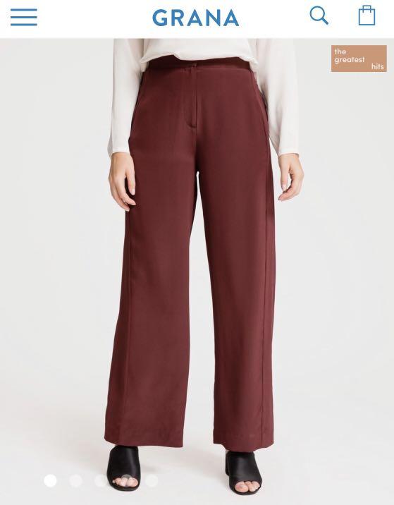 ade78260bc51 Grana Wide Leg Racer Pants, Women's Fashion, Clothes, Pants, Jeans ...
