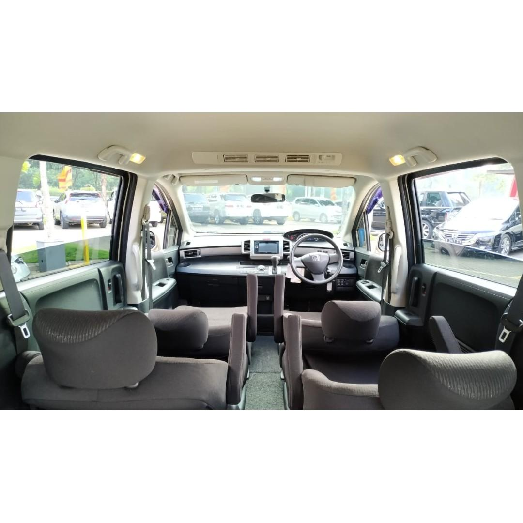 Honda Freed PSD AT 2013 AC Double Smoke Silver  Dp 22,9 Jt No Pol Ganjil