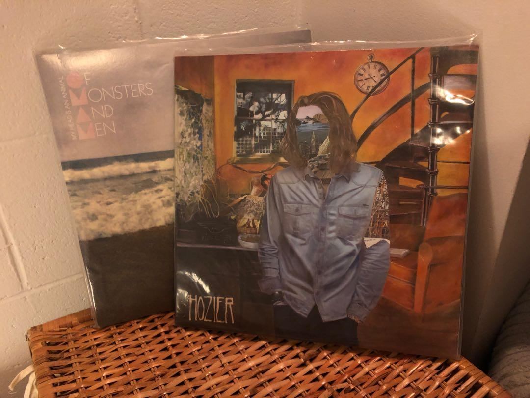 Hozier Vinyl and Of Monsters And Men Vinyl Records