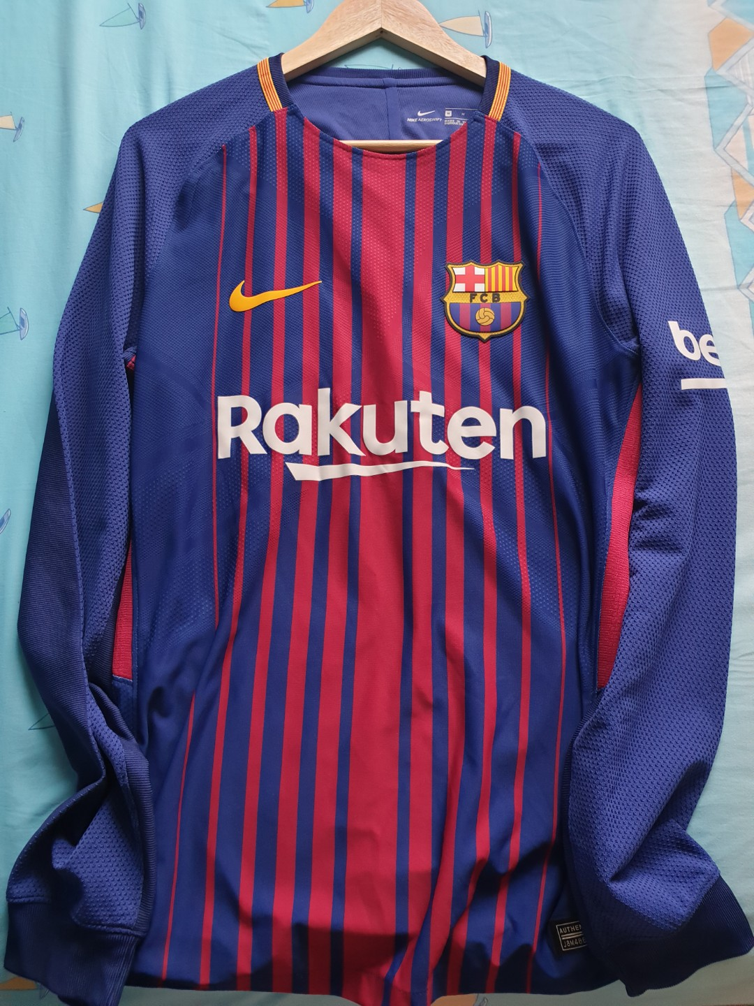 2f236bd8cdc Jersey Barcelona, Sports, Athletic & Sports Clothing on Carousell