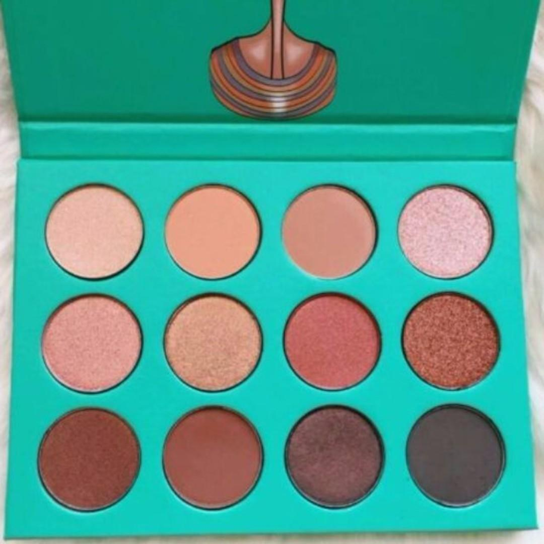 JUVIA'S PLACE The Nubian Eye shadow (Green). BRAND NEW AUTHENTIC (NO SWAPS, PRICE IS FIRM)