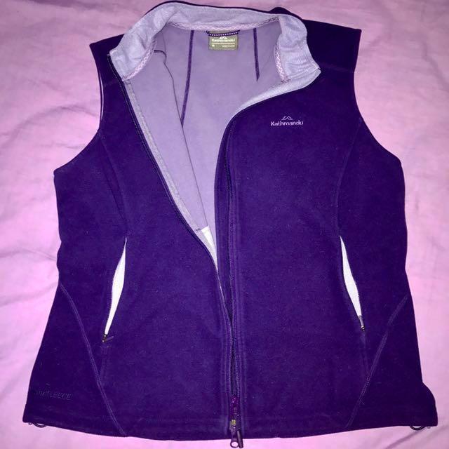 KATHMANDU Purple Fleece Jacket