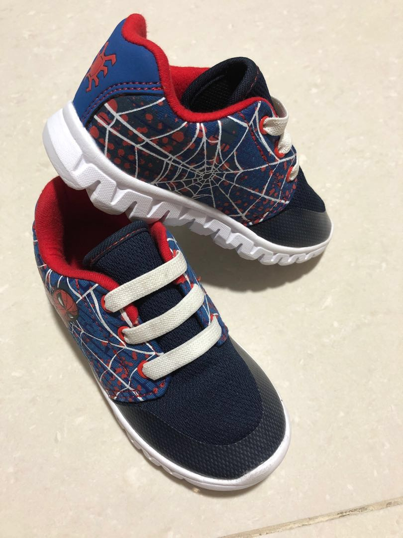 5364fbec0 Mothercare Spider-Man toddler shoes