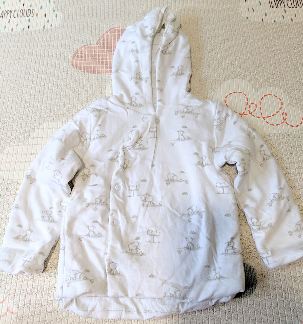 3b2a721e7 Mothercare Thick Winter Layering Jacket with Hoodie