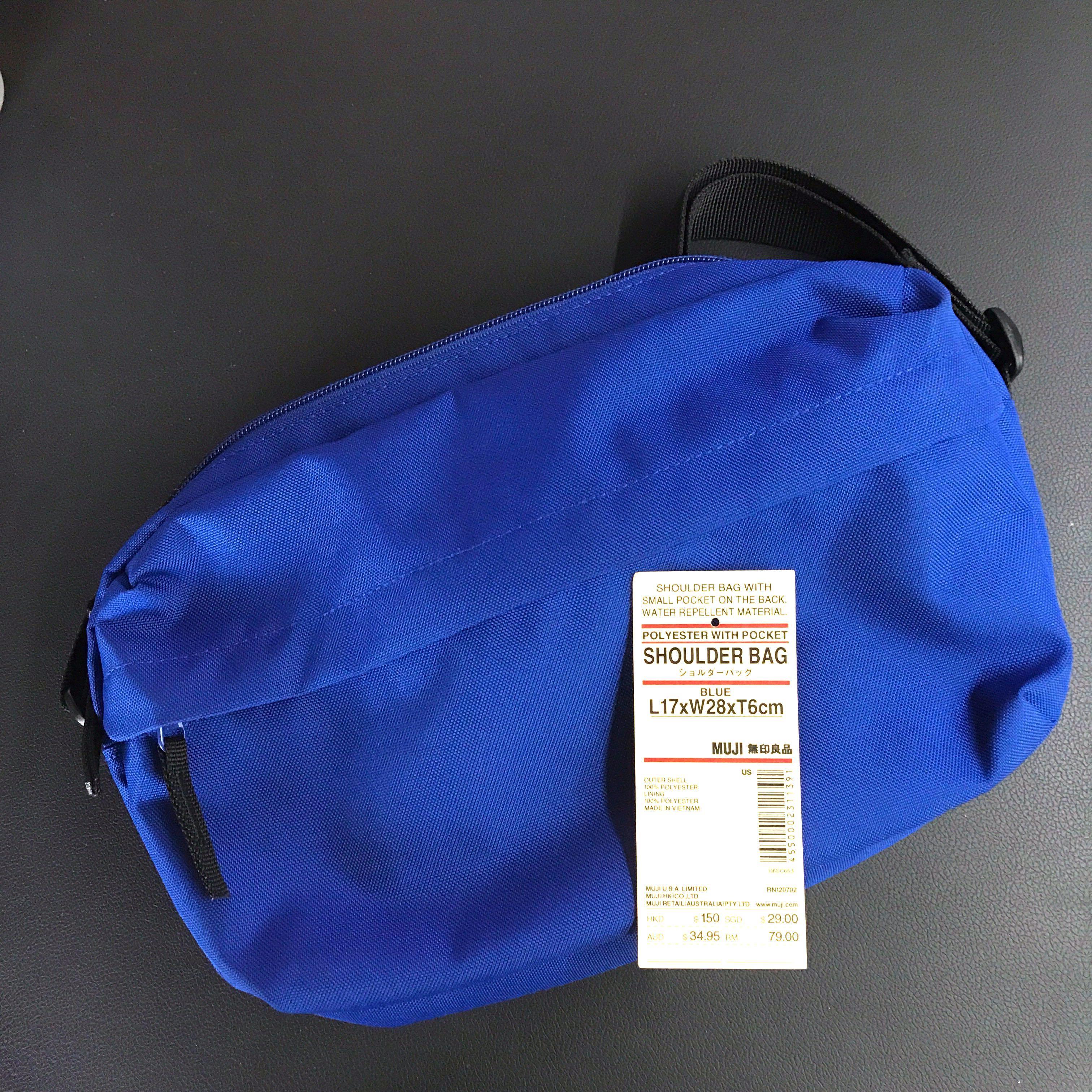 Muji Shoulder Sling Bag   Cross body Pouch 32adaca417ca4