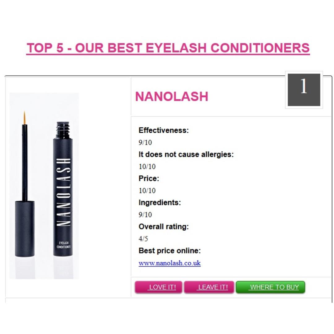 58d41a003d7 👁 [ NANOLASH ] Eyelash Growth Serum Conditioner For Enhanced Long Luscious  Eyelashes and Eyebrows👁 , Health & Beauty, Face & Skin Care on Carousell