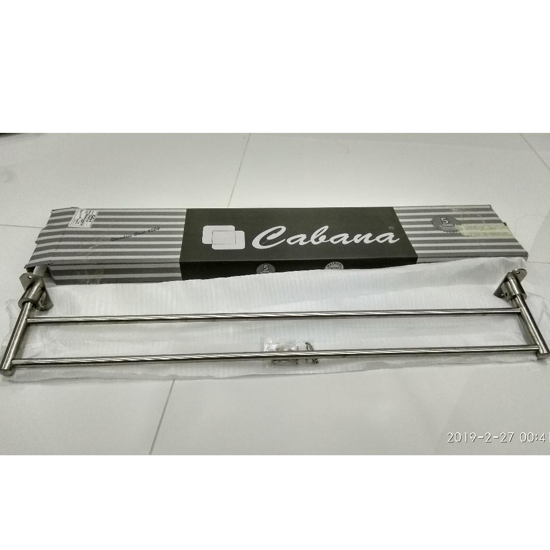NEW & Unused Cabana CB551-32 S/S 304 Bathroom Towel Bar, Towel Hanger, Clothes Hanger