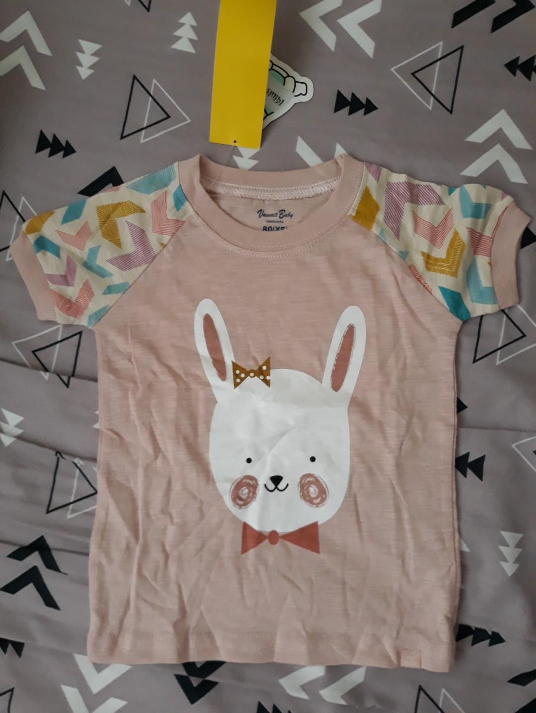 e95ff0ec New Bunny Shirt & short set size 80, Babies & Kids, Babies Apparel ...