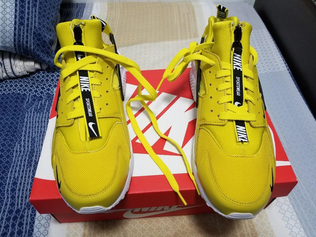 US 10, Nike Air Huarache Run PRM Zip, Men\u0027s Fashion, Men\u0027s
