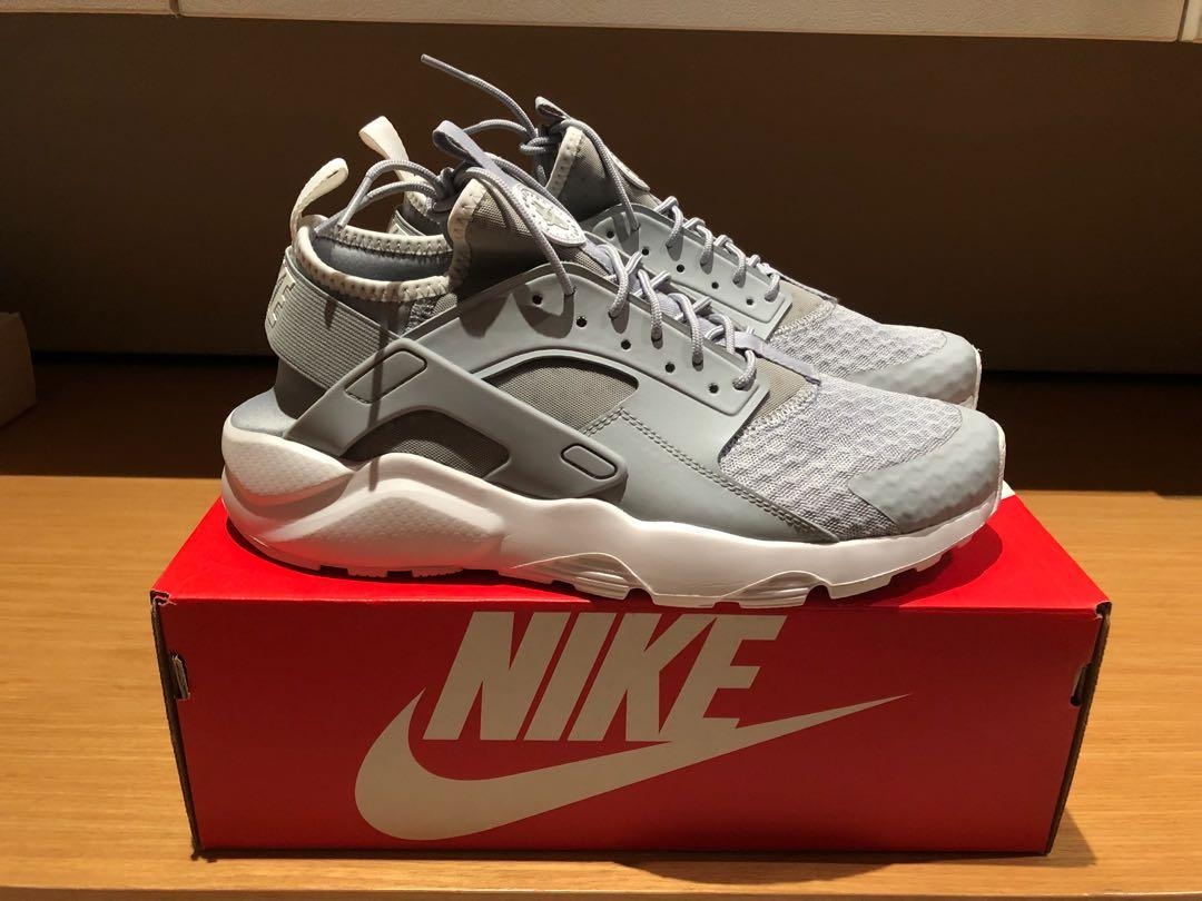 buy popular e31fd 7e395 Nike Air Huarache Run Ultra grey US 9.5, Men's Fashion ...