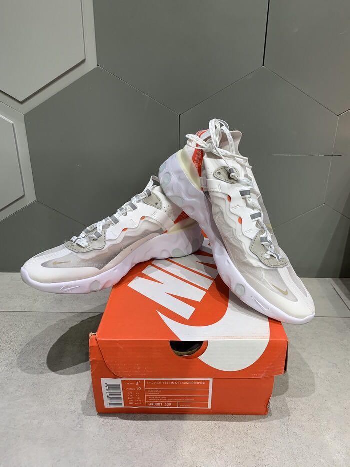 Nike Element React 83 x Jun Takashi Cream BNIB PERFECT PAIRS