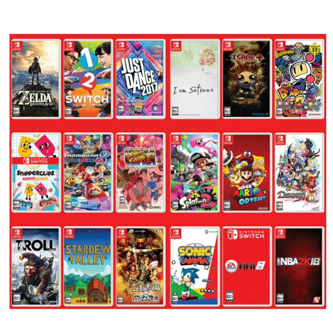 Nintendo Switch Games (Only for Modded Switch)