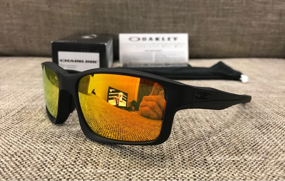 029e87547e1 Oakley™ CHAINLINK Asian Fit (Matte Black Fire Iridium)