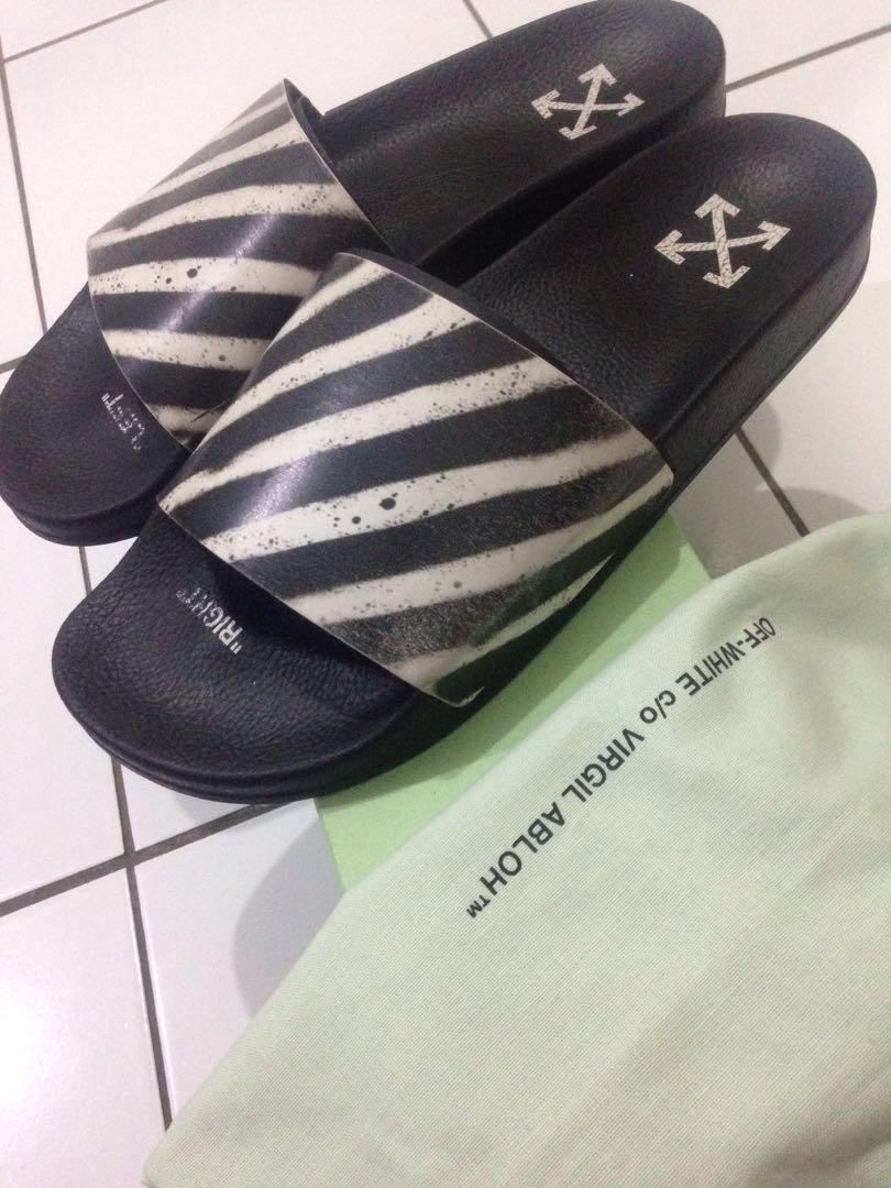 OFFWHITE SLIDE AUTHENTIC NOT gucci jordan yeezy slides
