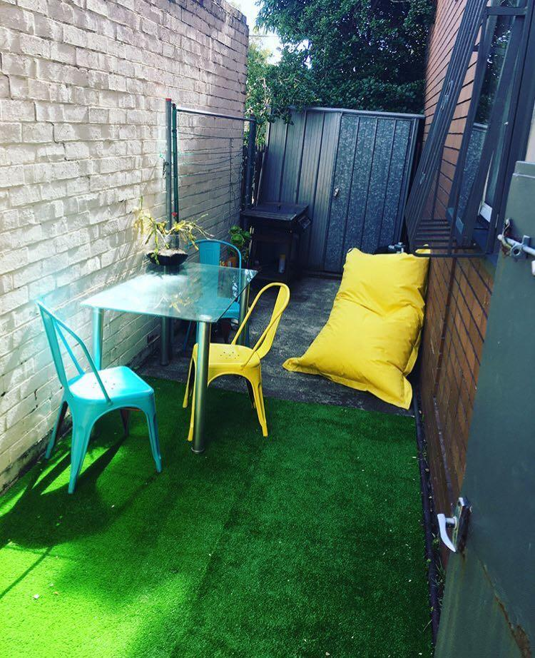 Outdoor 3 deco chairs