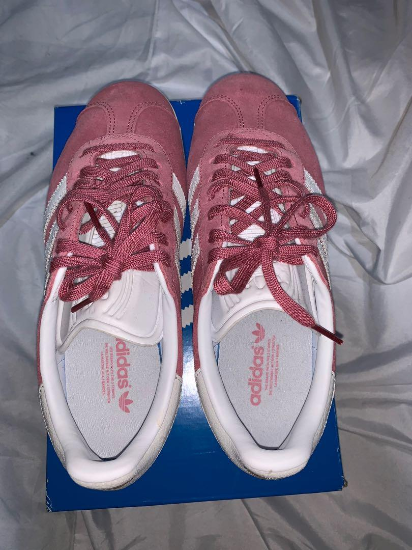 Pink gazelle shoes brand new
