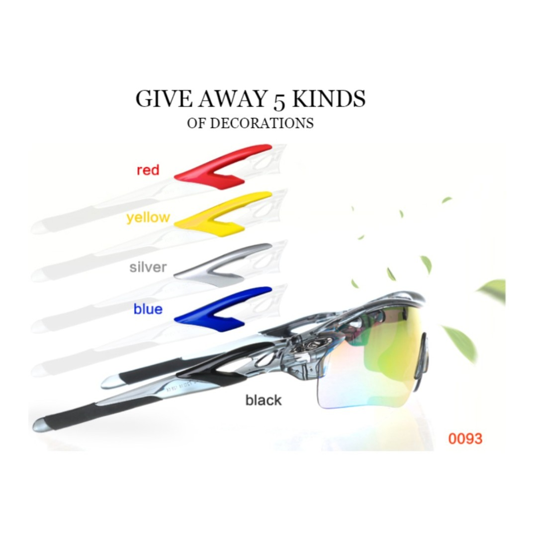 7f85c6efb4a22 Polarized Cycling Glasses Bike Outdoor Sports Bicycle Sunglasses For ...