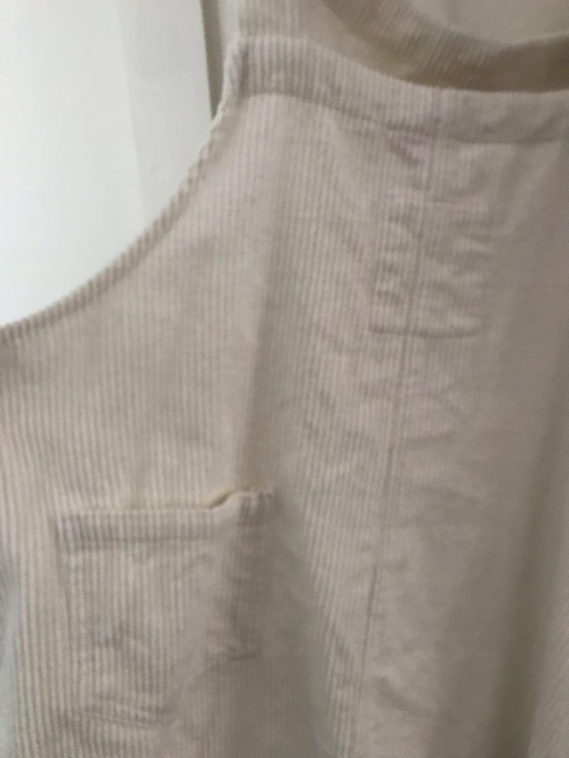 **price reduced** Verge Girl Cord Dungaree Dress - size 10